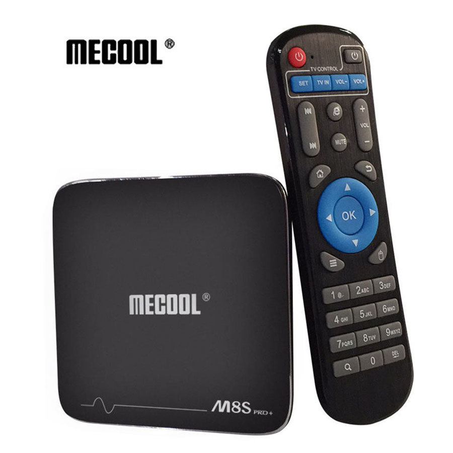 MECOOL M8S Pro+ Smart Android 7.1 TV Box Amlogic S905X Octa-core Set-top Boxes 2GB DDR3 16GB WiFi 802.11b/g/n 4K Media player mecool m8s plus w tv box android 7 1 amlogic s905w octa core 2gb 16gb 2 4g wifi media player smart mini pc set top box