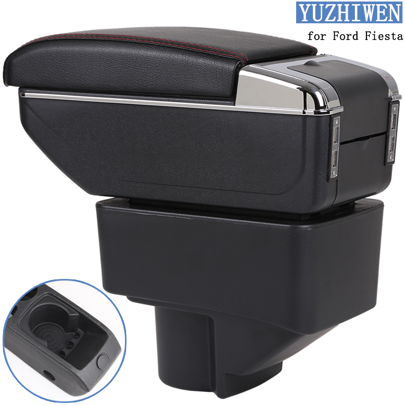 For Ford Fiesta Armrest Box Ford Fiesta Universal Car Central Armrest Storage Box cup holder ashtray modification accessoriesFor Ford Fiesta Armrest Box Ford Fiesta Universal Car Central Armrest Storage Box cup holder ashtray modification accessories