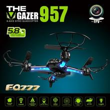 Quadrocopter Dron AF957F 5.8G FPV With 2.0MP Camera One Key Return RC Helicopter 6-axis Gyro Headless Mode Kvadrokopter Drones