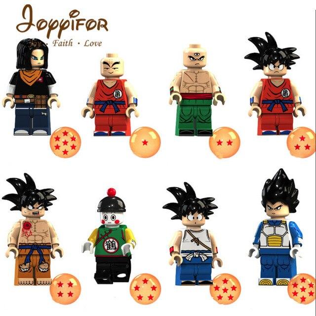Blocos de Construção Do Exército Imperial dragão blocos Compatíveis com Legoingly Original marca dragon ball Kakarotto goku Goku brinquedos