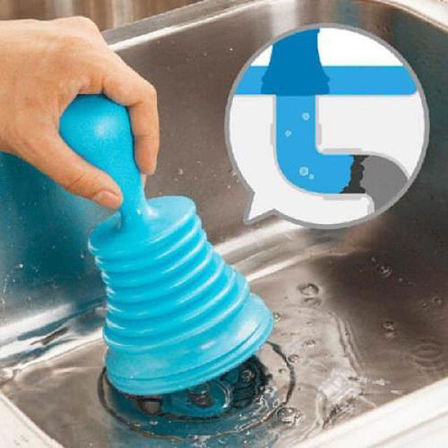 Bathroom Kitchen Cleaning Brushes Plunger Home Sink Plunger ...