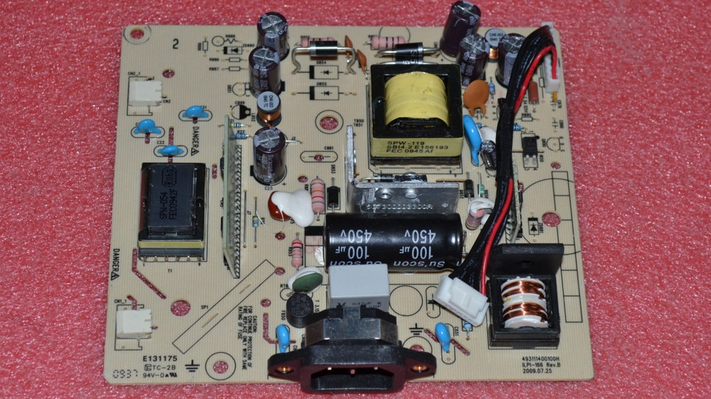 Free Shipping>Original  ILPI-166 power supply board 493111400100H pressure plate ILPI-166-Original 100% Tested Working free shipping original c lwm930 la760 power board pu lwm930 pressure plate jsi 190401b original 100% tested working