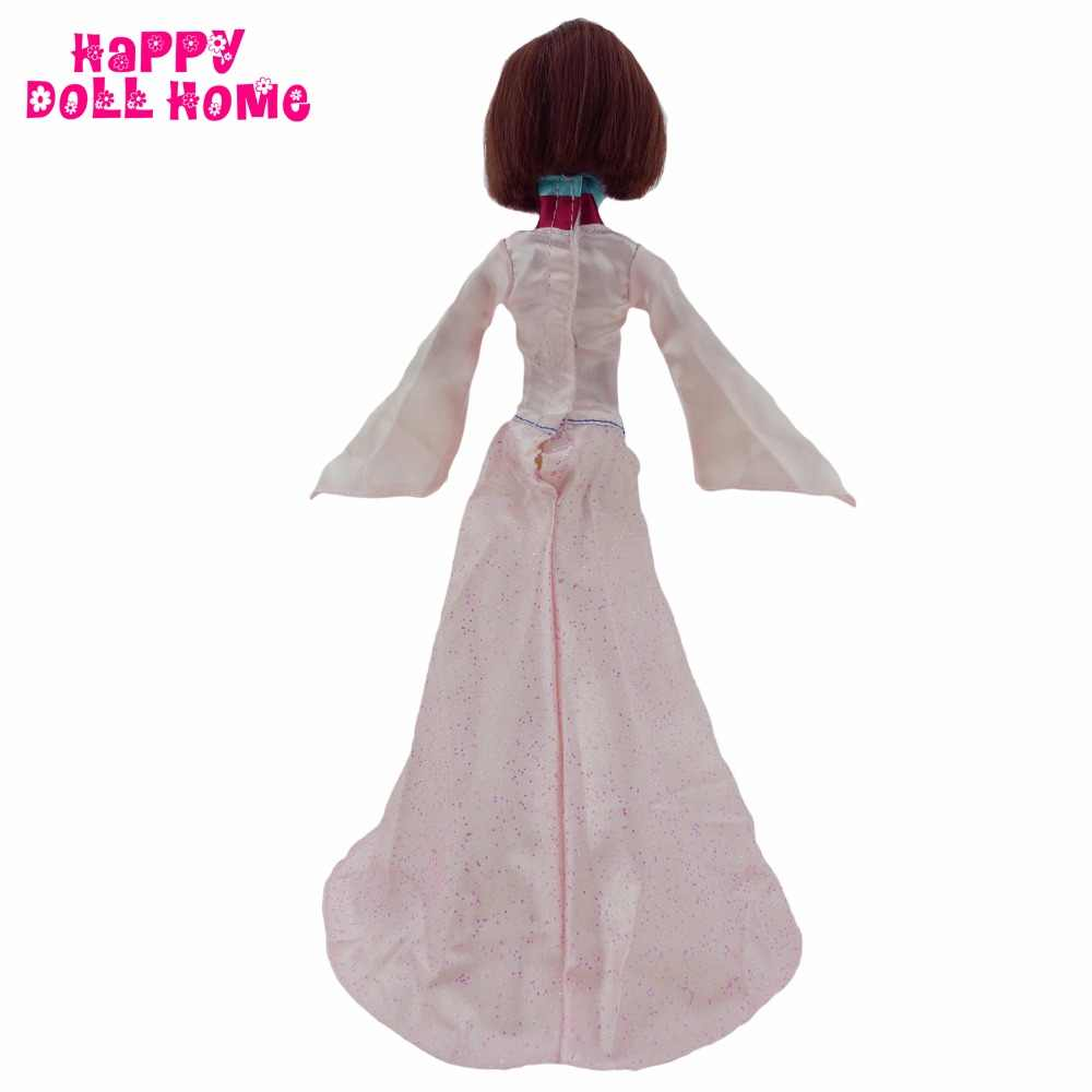 """Экзотические одежда с длинным рукавом платье для китайской одежды хан принцесса Мулан платье для Kurhn куклы 11 """"11,5"""" Кукольный одежда играть дома игрушки подарок"""