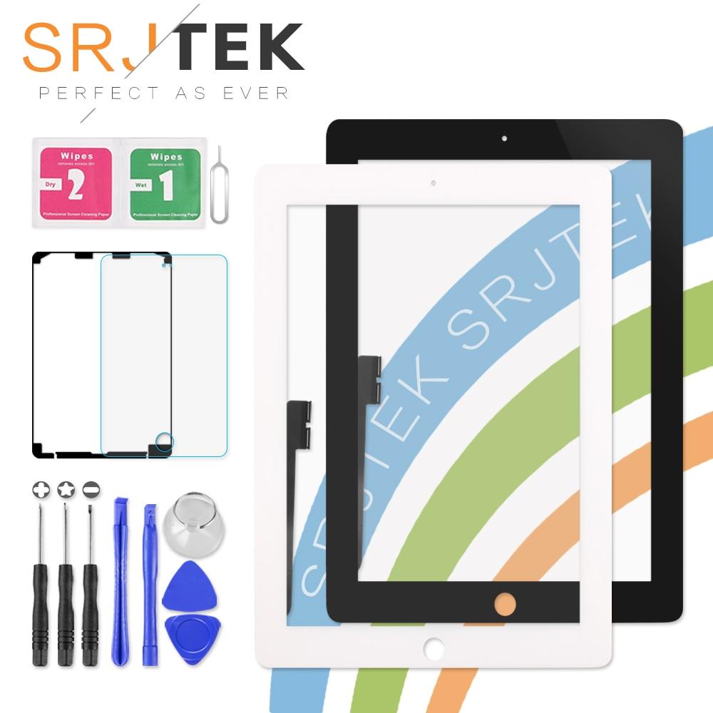 9,7 pantalla táctil para iPad 3 4 iPad3 iPad4 A1416 A1430 A1403 A1458 A1459 A1460 digitalizador de Panel de vidrio