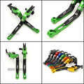 Motorcycle Accessories Adjustable Brake Clutch Levers For Kawasaki ZX10R ZX-10R 2004-2005 Free shipping