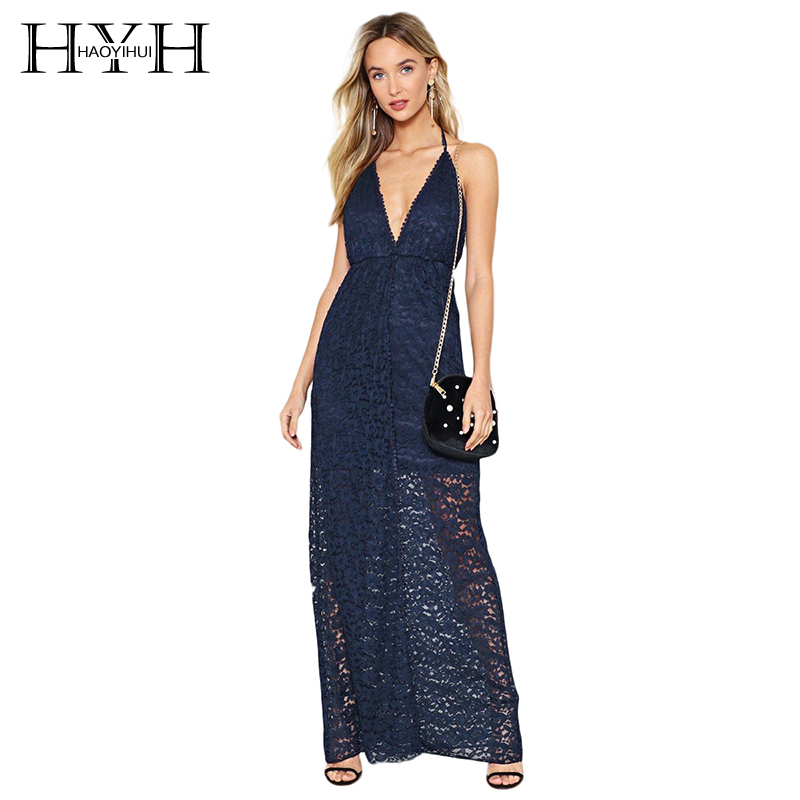 Aliexpress.com : Buy HYH HAOYIHUI Woman Solid Navy Blue ...