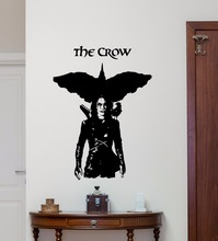 Movie Poster The Crow Wall Sticker Vinyl Art Removable Bedroom Mural Decoration Design W210