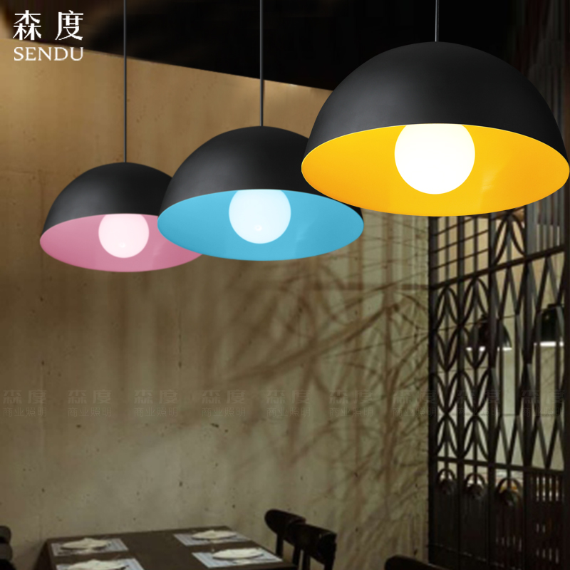 Modern Nordic AMBIT Pendant Lights Denmark Colored Macaron Aluminum LED pendant lamp Kitchen Restaurant Light Ceiling Fixtures
