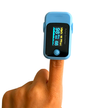 3 Parameters SPO2 PR PI Fingertip Pulse Oximeter Blood Oxygen Saturation Monitor with Parameter Setting