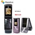 W510 100% Оригинальный разблокированный GSM четырехдиапазонный флип Motorola W510 Оригинальный разблокированный 1 9