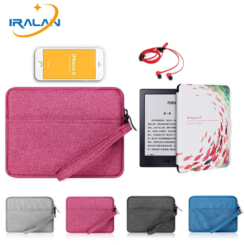 все цены на New handbag Shockproof Liner Sleeve Pouch bag For Kindle Paperwhite 1 2 3 case for Kindle Kobo 6 inch protection cover eBook онлайн