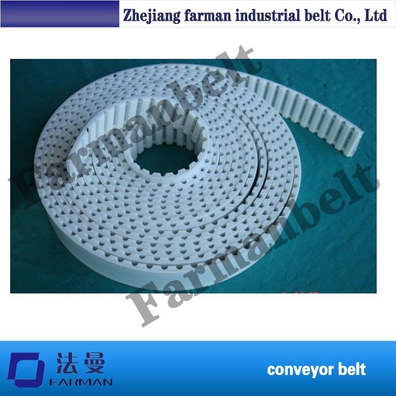 htd 8m timing belt Double sided teeth steel cord endless pu flex belt t10 steel cord pu timing belt