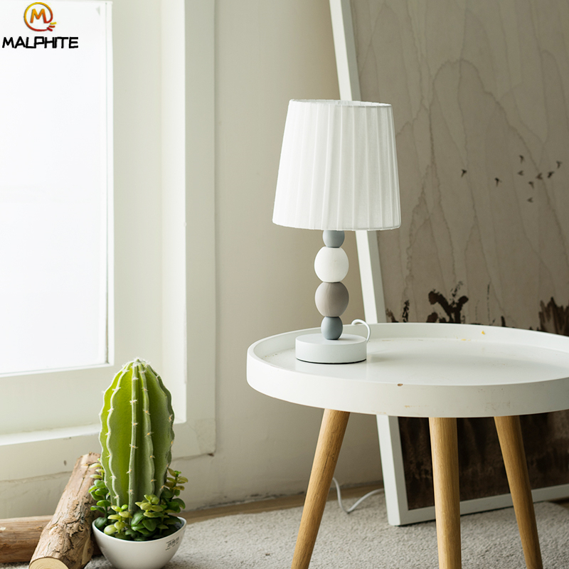 Nordic LED Desk Lamps Ceramic Desk Lamp Table Lamps for Bedroom Bedside Table Light Modern Luminaria Lights Lighting Fixtures in LED Table Lamps from Lights Lighting