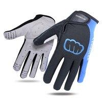 New Unisex Cycling Gloves Men Sports Full Finger Anti Slip Gel Pad Motorcycle MTB Road Bike