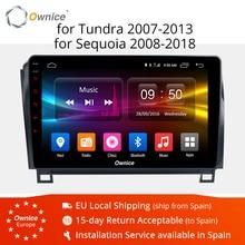 10,1 Ownice K1 K2 K3 Octa 8 ядра Android 9,0 автомобиль dvd gps плеер для Toyota Tundra 2007-2013 Sequoia 2008-2018 стерео радио