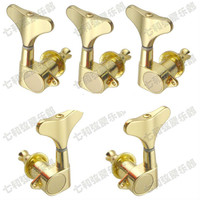 2L3R Gold Electric Bass Guitar Tuning Pegs Bass Guitar Machine Heads Tuning Keys Tuners Buttons For