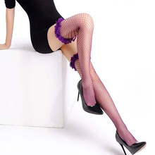 Sexy Stockings Women Lace Net Fishnet  Lingerie black fishnet Three-Dimensional Silk