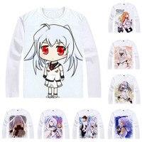 Coolprint Anime Shirt Plastic Memories T Shirts Multi Style Long Sleeve Puramemo Tsukasa Mizugak Isla Cosplay