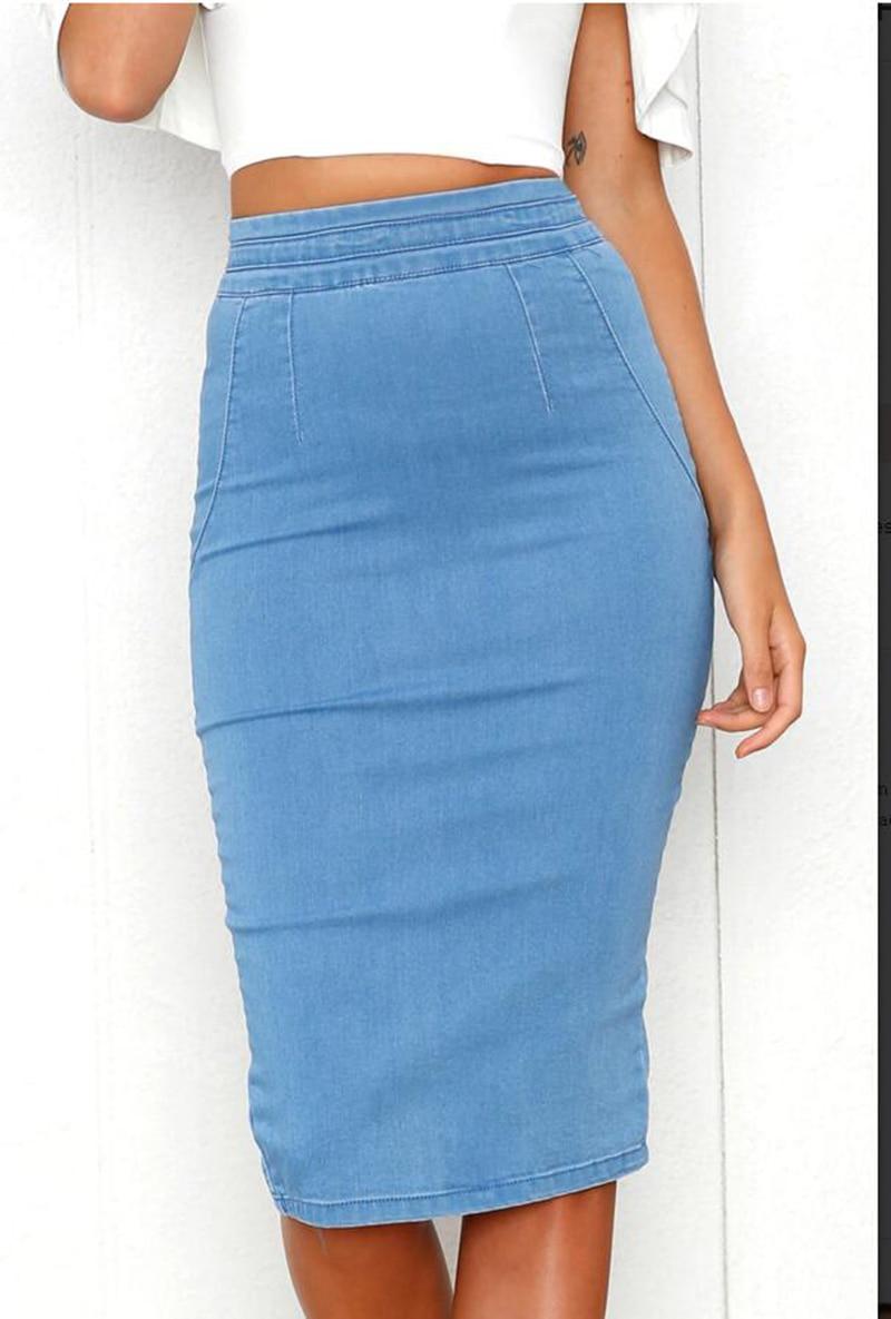 0802d7cd44 Long Denim Skirt Plus Size | Huston Fislar Photography