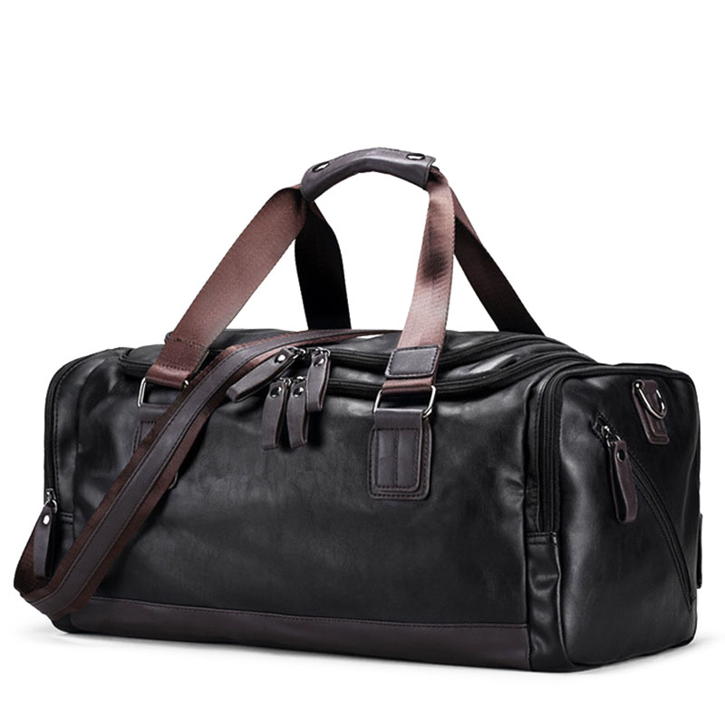 Vintage Handbags Men's Casual Tote For Men Large-Capacity Portable Shoulder Bags Men's Fashion Travel Bags Package