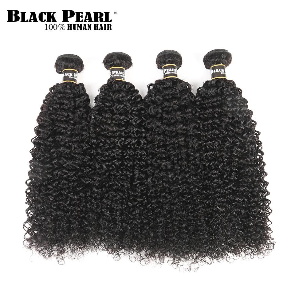 Black Pearl Pre-Colored Peruvian Hair Weave Bundles Mänskligt Hår 4 - Skönhet och hälsa - Foto 1