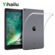 ФОТО for new ipad 9.7 2017 a1822 a1823 case transparent soft gel tpu silicone case cover for apple new ipad 9.7inch 2018 a1893 clear