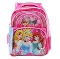 Высокое качество! Девушки принцесса дети ранцы дети Mochila начальной школы Bookbags ортопедические нейлоновый рюкзак для девочек