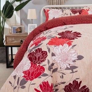 Image 4 - LOVINSUNSHINE Duvet Cover King Size Comforter Bedding Sets Queen Printed Flowers Bedding Set AB06#