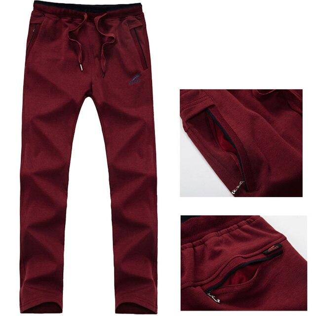New Arrival Loose Men's Black Pants Casual Fashion100% Cotton Breathable Style Trousers Male Sweatpants Big Size 5XL 10