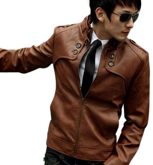 Aliexpress.com : Buy 2015 Fashion Classic Men's PU Leather Coat ...