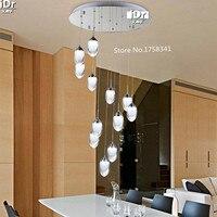 16 глава LED люстра свет Мода филиал Современная Рождество отель Освещение chandelierd600xh1800mm Бесплатная доставка