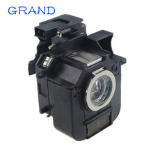 цена на new Replacement  Projector Lamp with housing EB-824 EB-825 EB-825H EB-826W EB-84 EB-85 EMP-825 for ELPLP50 / V13H010L50