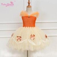 สาวชุดสีส้มชุดสาวพรรคหรูหราเสื้อท่อนบนสายรัดตูชุดสาววันเกิดชุดแต่งงานปรับแต่