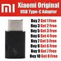 Em estoque 100% oficial para xiaomi marca original usb tipo c adaptador micro usb xiaomi mi mix, nota 2, mi5s além do mi5, mi4c, mipad 2