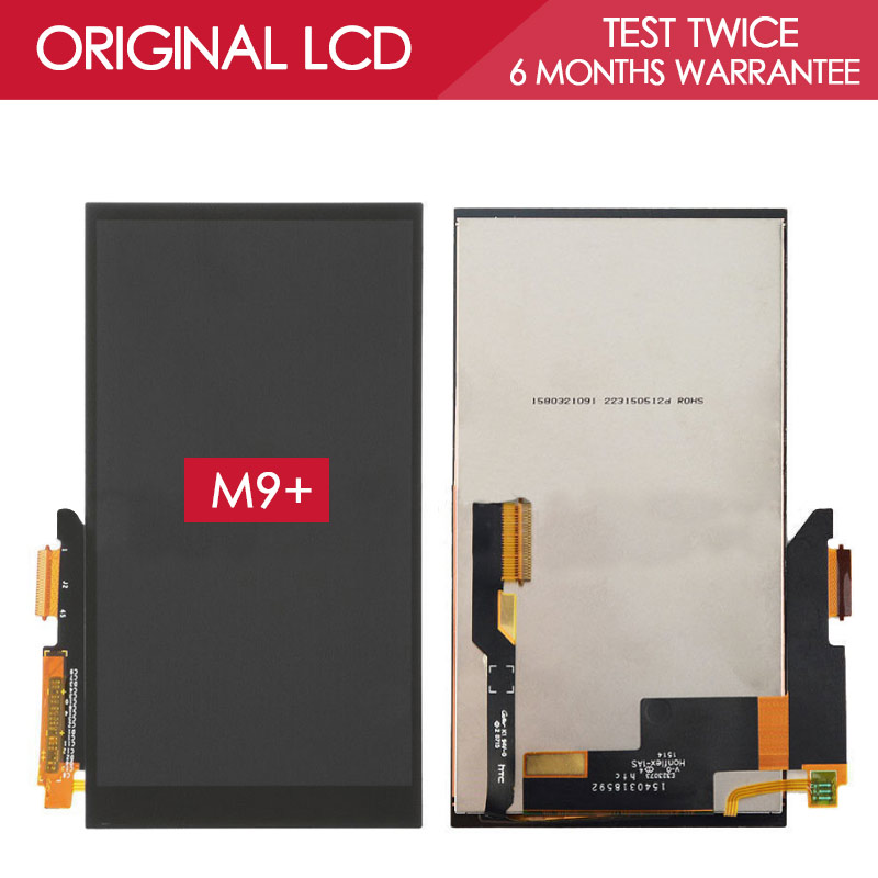 ФОТО 100% Tested Original 5.2 inch LED-backlit 2560x1440 Display For HTC One m9+ m9 Plus LCD Touch Screen Digitizer Replacement