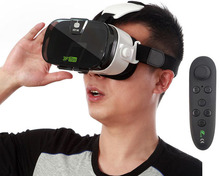 Fiit 3F Mini fone de Ouvido Portátil Mini 3D de Realidade Virtual VR VR Headset óculos 3D para Filmes Em 3D Jogo de Realidade Virtual de Vista Caixa VR olho