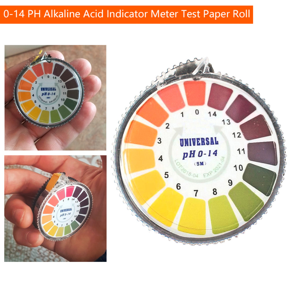 1 Roll 1 14 Ph Indicator Test Paper 5m Universal Home