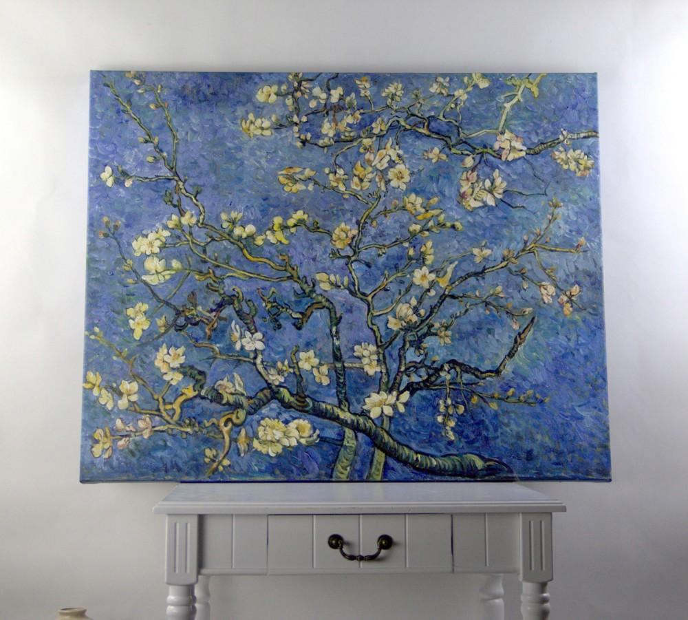 Mandel Blüten reproduktion ölgemälde berühmte künstler Van Gogh ...