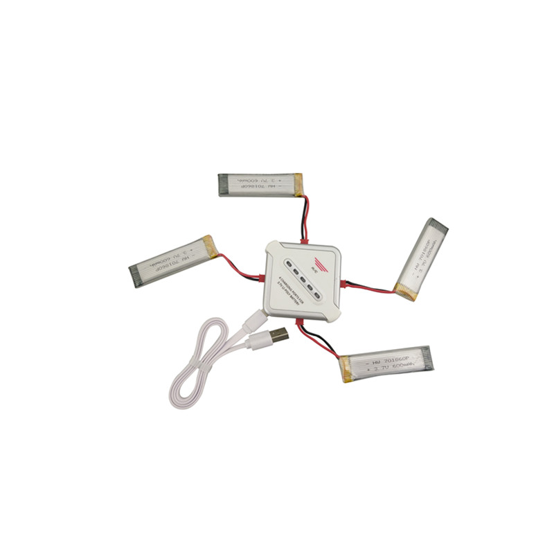 4 шт. 3.7 В 600 мАч батареи UDI U815A U817A U818A для WLtoys V929 V939 V949 V959 V969 V979 V989 v999 V222 для SYMA S032G самолета