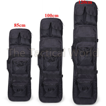85 100 120 cm High Density Nylon Rifle Case Bag Tactical Military Carbine Soft Bag Airsoft Holster Gun bag Rifle Accessories