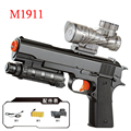Gun Desert Eagle Electric Repeating Crystal Bullet Toy Gun Automatic M1911 Guns USB Charging Water Paintball Children's Gift