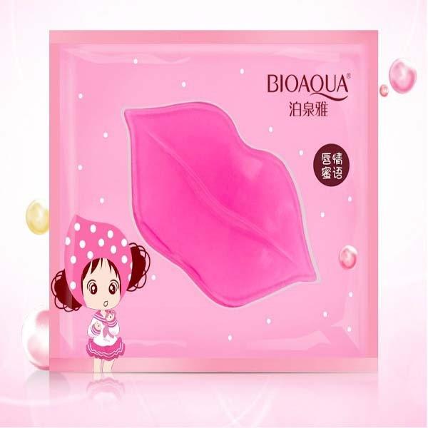 5Pc Lips Whitening Care Crystal Collagen Lip Mask Pads Moisture Essence Anti Ageing Wrinkle Patch Pad Gel Bleach Skin lipstick Комедон
