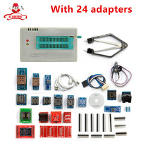 Original New TL866A Universal Minipro Programmer 24 Adapters Test Clip 1 8V Adapter TL866 AVR PIC