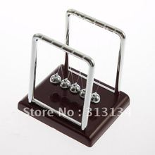 New arrival ton s Cradle Fun Steel Balance Ball Physics font b Science b font Desk