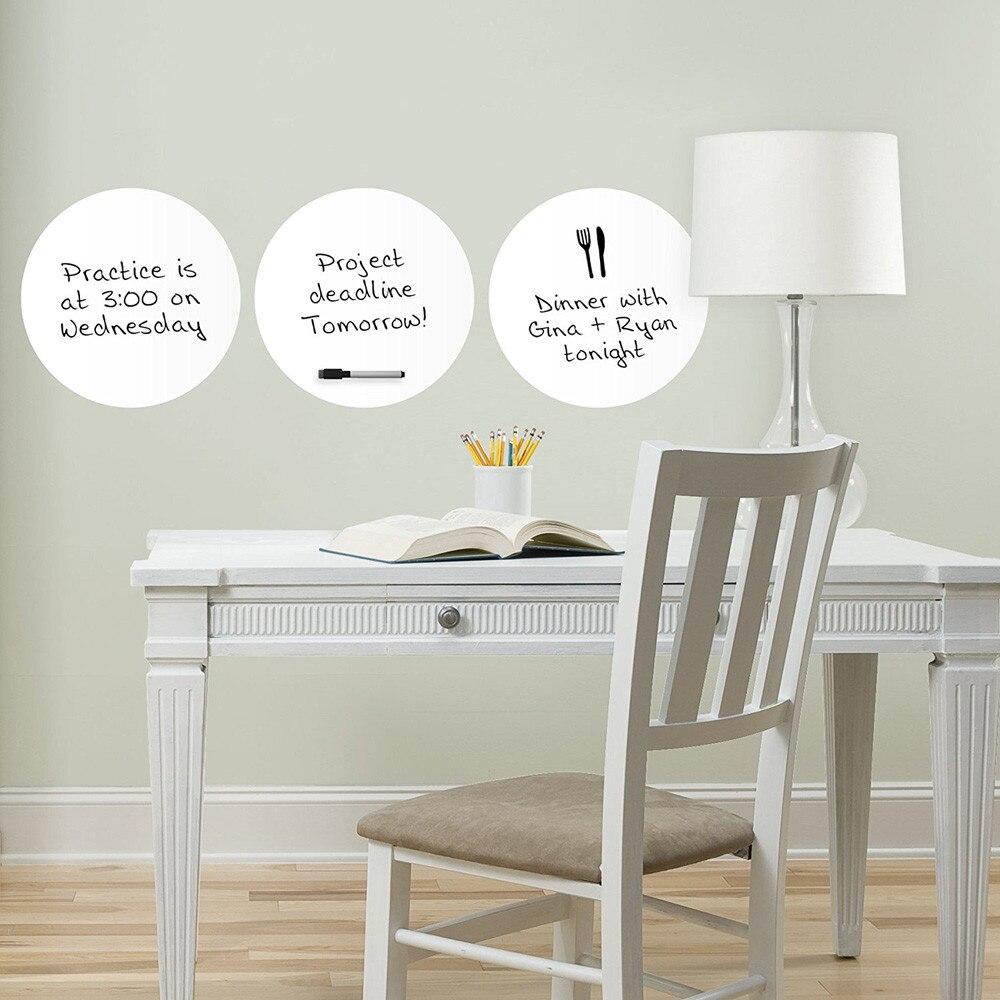 Online Shop 3pcs Wall Stickers Whiteboard Fridge Kitchen Home Office ...