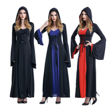Vampire Halloween Witch Long Dress Role Playing Suit Costume Cosplay Holiday Gift