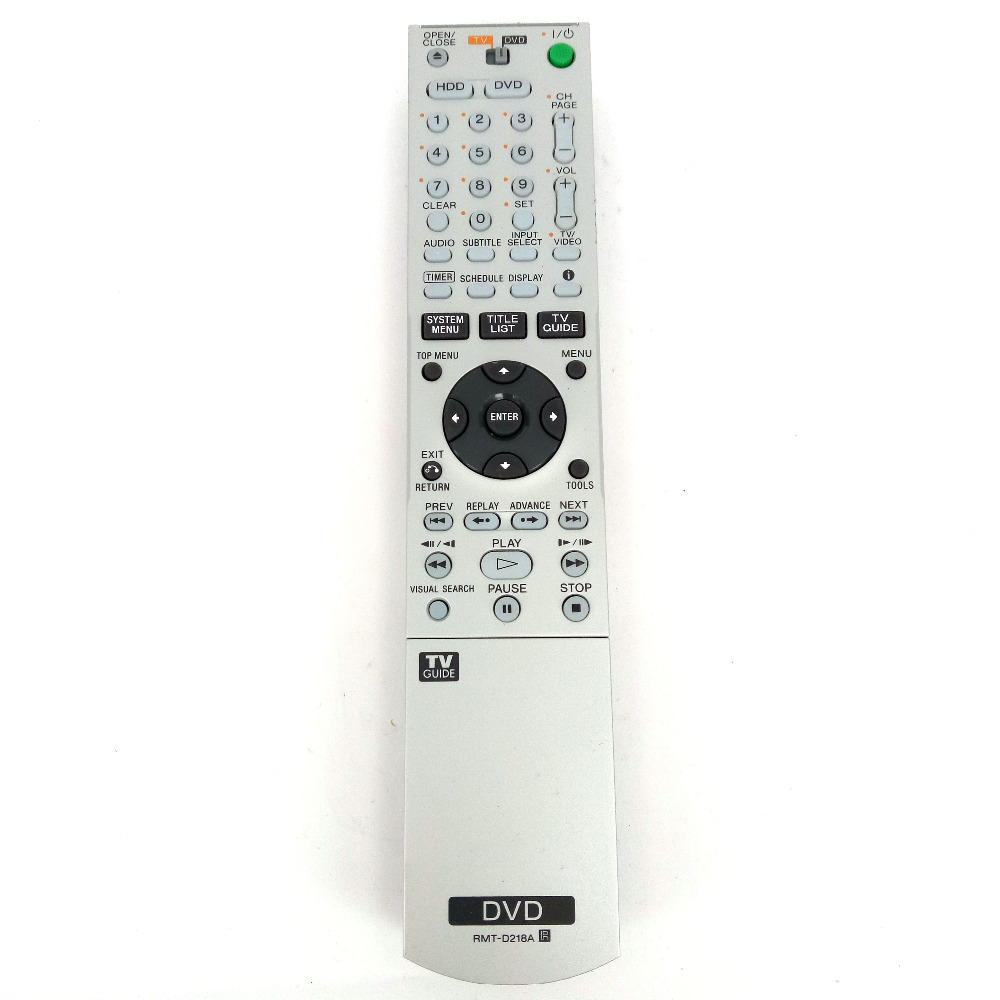 Original remote control for Sony DVD RMT D218A RDR HX715 RDRHX715-in Remote  Controls from Consumer Electronics on Aliexpress.com | Alibaba Group