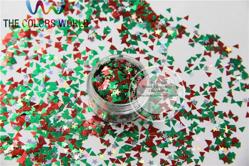 ჱIss-103 mezclar colores resistente al solvente Glitter spangles ...