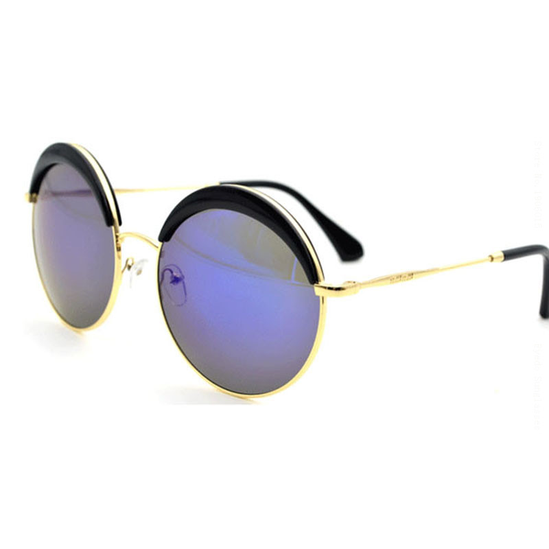 best designer sunglasses for women  Aliexpress.com : Buy Roupai Circular Sunglasses For Ladies 2016 ...