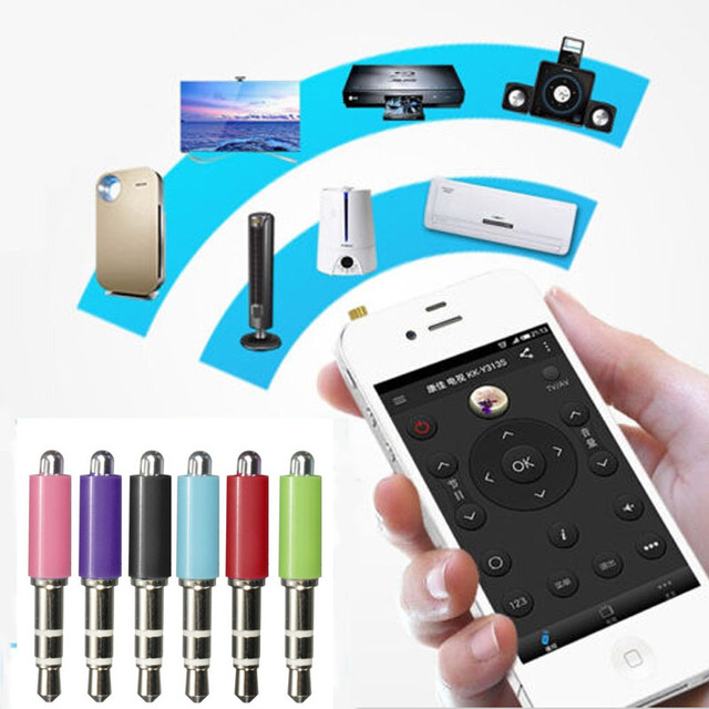 3.5mm Mini Mobile Phone Smart Infrared IR Transmitter Remote Jack Plug Control For Air Conditioner Smrt Home Emitter for iPhone